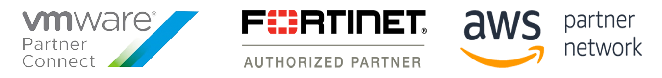 We Are AWS, VMWware, and Fortinet PArtners